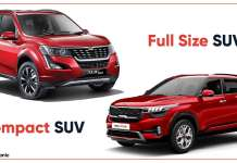 What is the difference between SUV and Compact SUV?