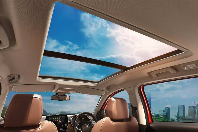 2020 Tata Harrier Sunroof | Cars with Sunroof in India