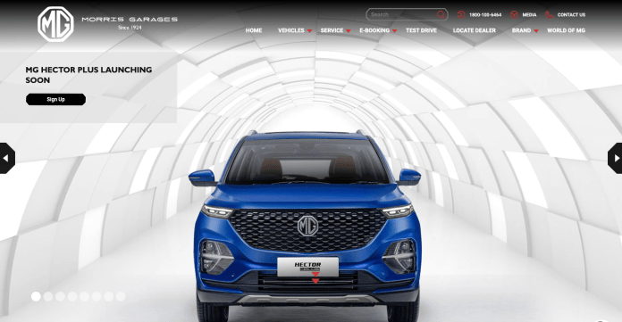 MG Hector Plus | Source