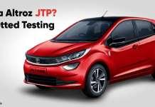 Tata Altroz JTP Spotted Testing