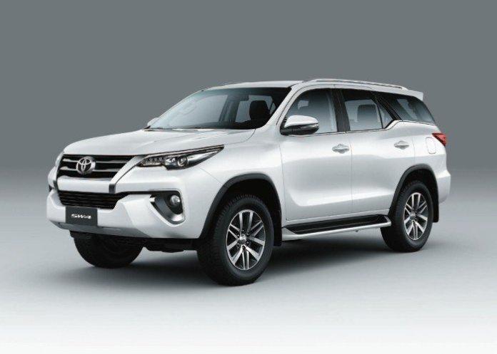 Toyota SW4 SRX7 (Toyota Fortuner)