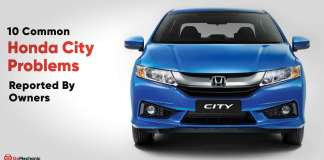10 common honda city problems