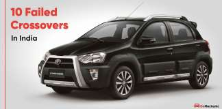 10 failed crossovers in india from big car manufacturers
