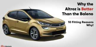 10 reasons why the altroz is better than the Baleno