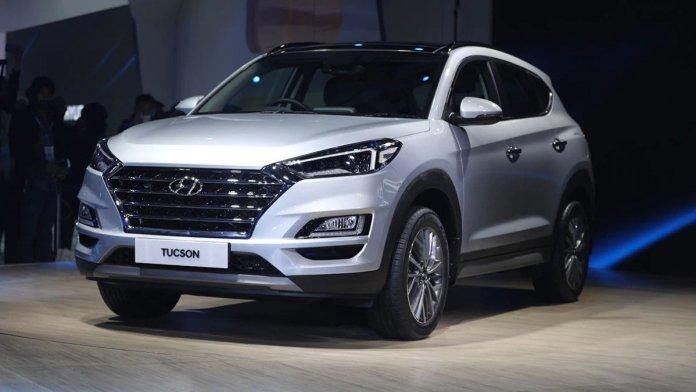2020 Hyundai Tucson at the Auto Expo 2020