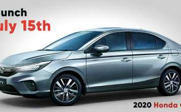2020 honda city to launch on 15th April