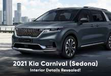 2021 kia carnival interior details revealed