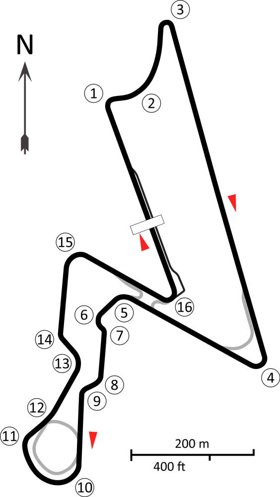 Buddha International Circuit Layout