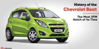 Chevrolet Beat history in India