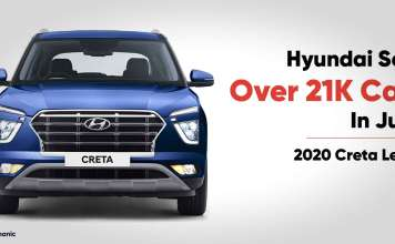 Hyundai sells over 21000 cars in June
