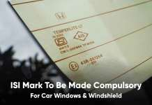ISI Mark to be made compulsory for windows and windshield