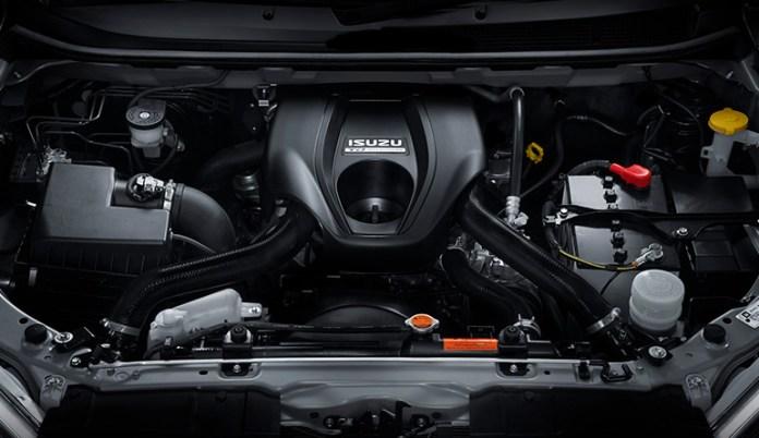 Isuzu D-Max V-Cross Engine