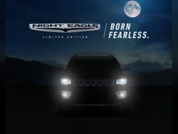 Jeep Compass Night Eagle Teaser