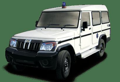Mahindra Bolero Ambulance