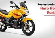 Remembering the Hero Honda Karizma