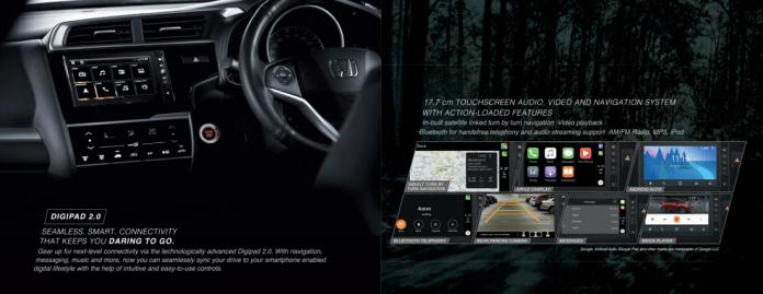 2020 Honda WR-V BS6 Infotainment System
