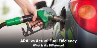 arai fuel efficiency vs actual fuel efficiency