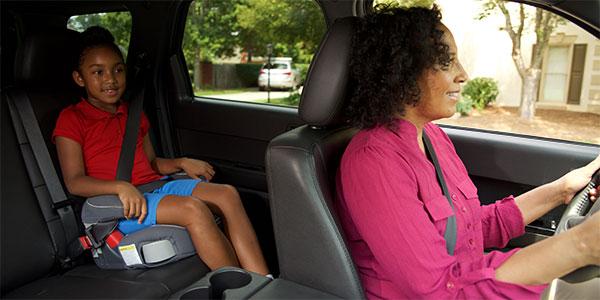 Make children sit at the back seat   Child safe cars