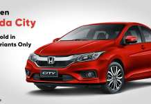 fourth gen honda city to be sold in just two variants