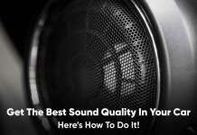 get the best sound quality in your car