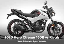 hero xtreme 160r vs bajaj pulsar ns16- vs tvs apache 160r