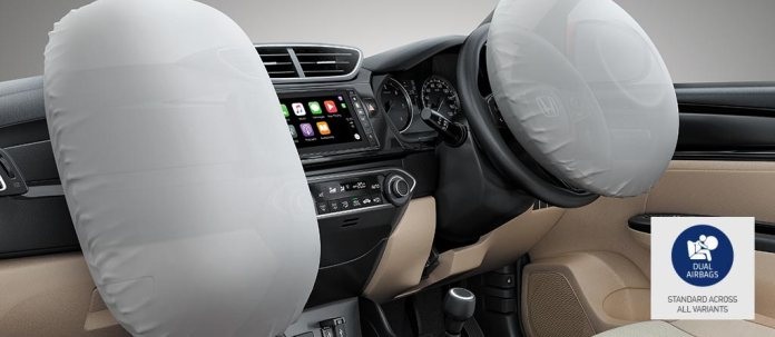 Dual-Airbags at the Front