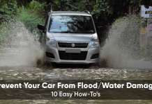 How to prevent your car from flood water damage