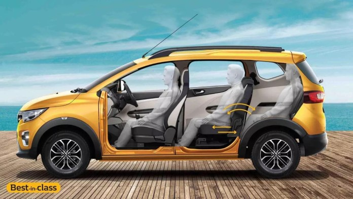 Renault Triber's Unmatched Cabin Space