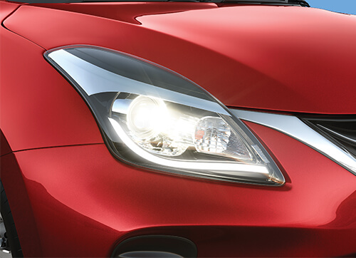 Toyota Glanza | Hatchbacks with LED Headlamps