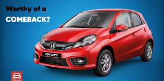 Why Honda should bring back the Brio in India