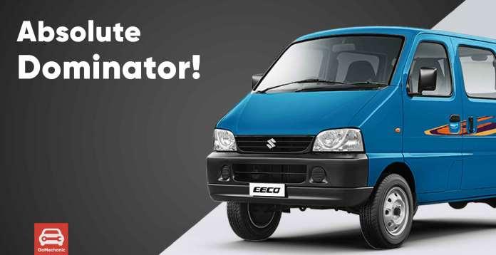 10 Reasons Why The Maruti Suzuki Eeco Dominates the Automotive Sales Chart