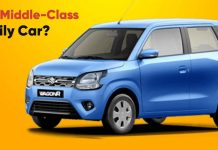 Best Car For Middle Class Family In India