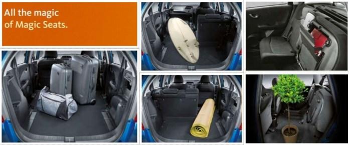 Magic Seats: Honda Jazz