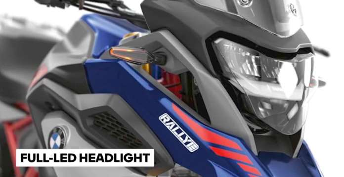 Full LED Headlights on the BMW G310 GS
