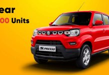 Over 75,000 Maruti Suzuki S-Presso Sold in 1 Year