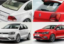 Volkswagen Polo and Vento - The Red and White Edition