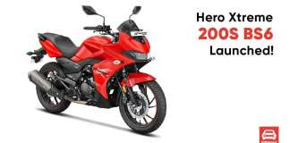 Hero Xtreme 200s BS6 Launched