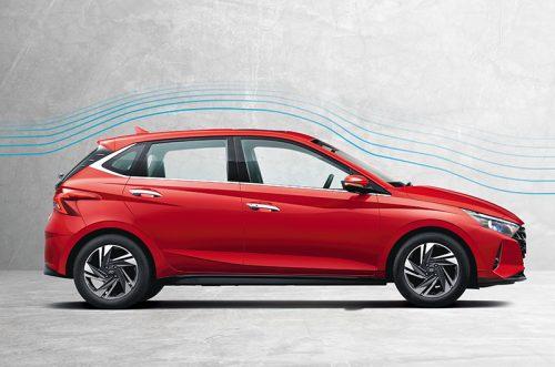 Hyundai i20's Aerodynamic Design