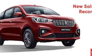 Maruti Suzuki Ertiga New Sales Record