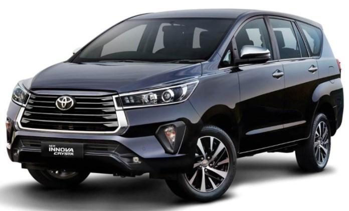 Toyota Innova Crysta | Facelift