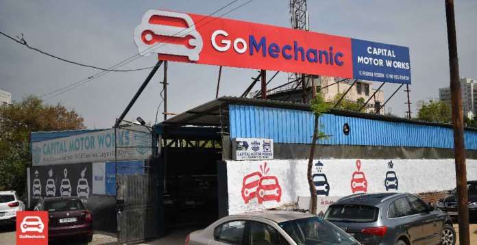 A GoMechanic Workshop In Gurugram