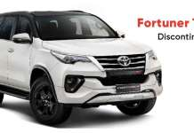 Fortuner TRD has been discontinued