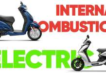 Internal Combustion vs Electric Scooters