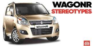 Maruti Suzuki WagonR Stereotypes