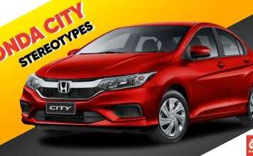Honda City Stereotypes