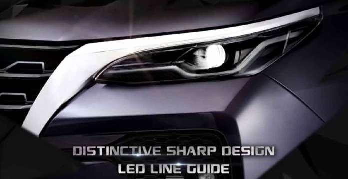LED Lights Fortuner