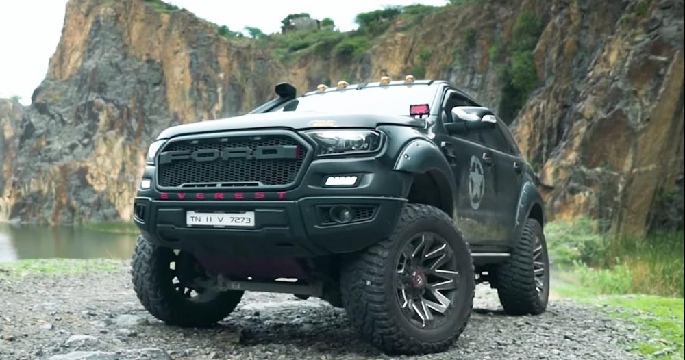 Lifted Ford Endeavour