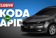Skoda Rapid CNG in the making?