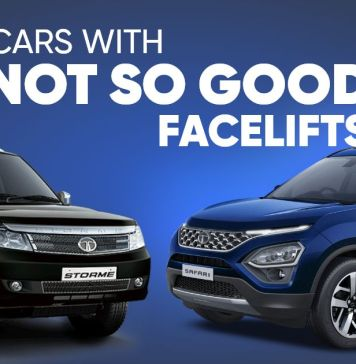 5 car which facelifted terribly