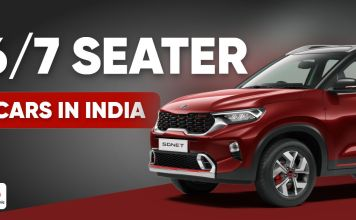 6-7 Seater cars in India